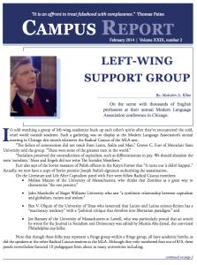 Campus Report February 2014