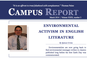 Campus Report March 2014