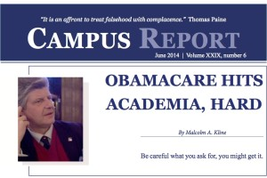 Campus Report June 2014 featured image