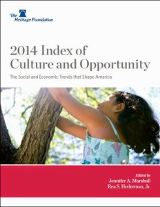 heritage foundation index of cultury and opportunity