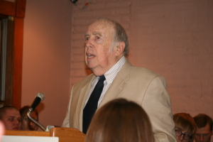 Author M. Stan Evans at one of our Author's Night events.