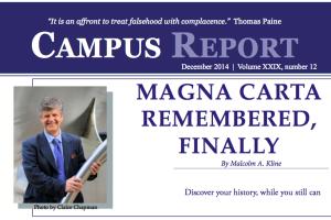 Campus Report December 2014