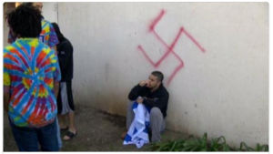 uc davis vandalism jewish frat house