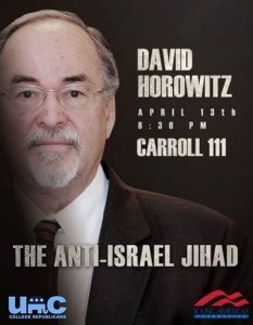 david horowitz at unc