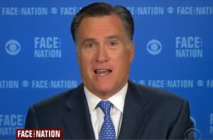 mitt romney on face the nation