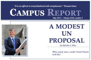 Campus Report May 2015