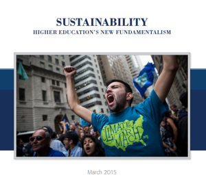 sustainability report NAS