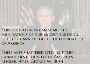 GW Bush 9-11 Address