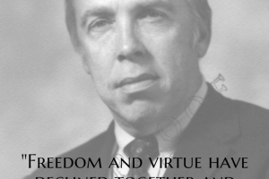 M. Stanton Evans on Freedom and Virtue