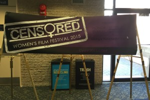 Censored Women's Film Festival Sign GWU