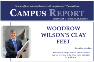 Campus Report January 2016