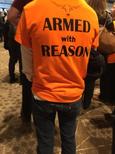 texas campus carry armed with reason shirt