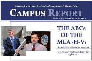 Campus Report March 2016