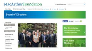macarthur foundation board