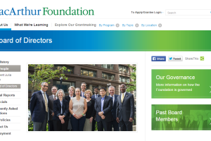 macarthur foundation board