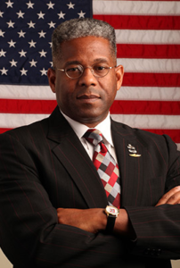 image via screenshot at Allen West's personal website