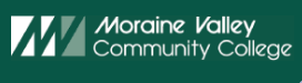 image screenshot from Moraine Valley Community College homepage of their logo