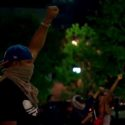image screenshot from CNN video on the Charlotte riots