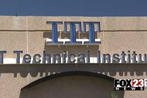 image screenshot of ITT Technical Institute by Fox 23 News from their YouTube video